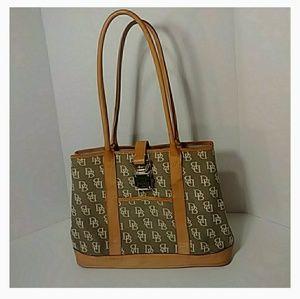 Dooney & Bourke Vintage 1975 Signature purse